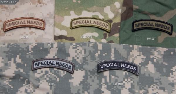 Mil Spec Monkey Patch Special Needs