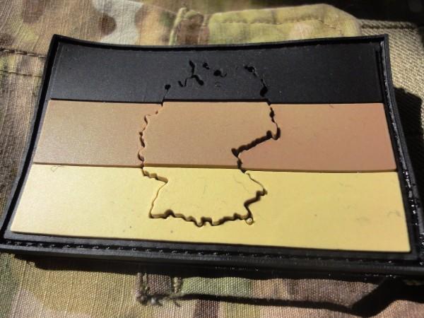 PW Deutschland desert 3D PVC Patch