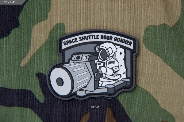 Milspec Monkey Space Shuttle Doorgunner PVC Patch