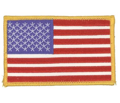 Vanguard Flaggen Patch USA Vereinigte Staaten von Amerika Patch