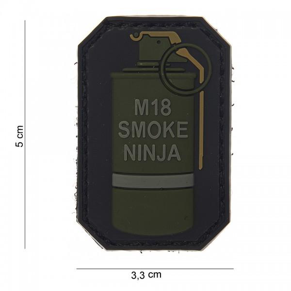 3D PVC M18 smoke Ninja Patch