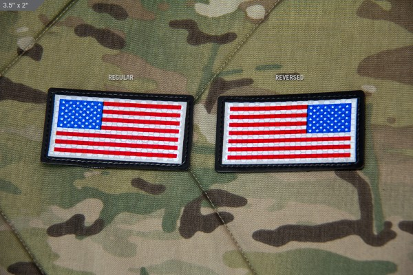 Mil Spec Monkey IR Sealed US Flag Patch