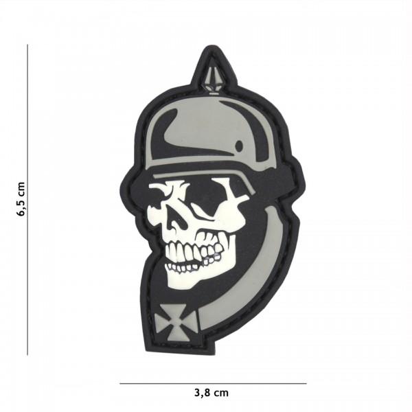 3D PVC ww i Skull Patc