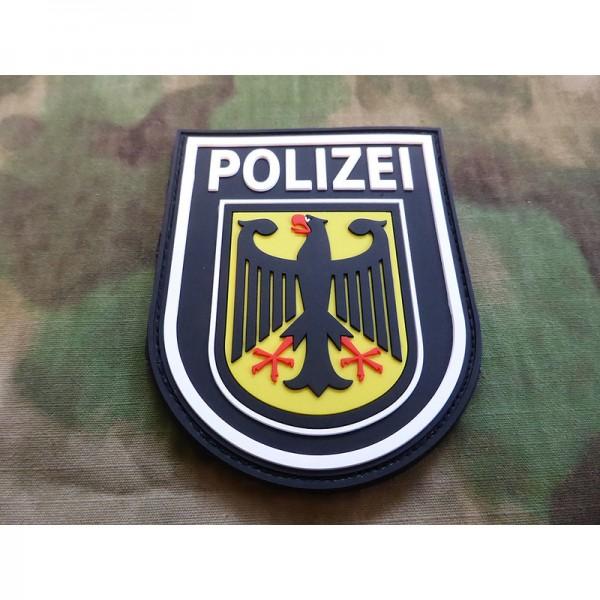 JTG Ärmelabzeichen Bundespolizei Patch schwarz