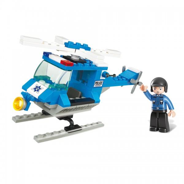 Sluban Polizei Hubschrauber