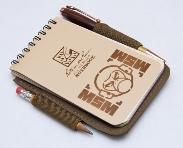 Mil Spec Monkey Notebook Cover
