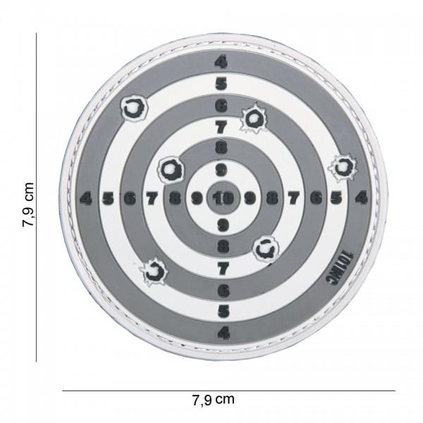 3D PVC Zielscheibe Patch
