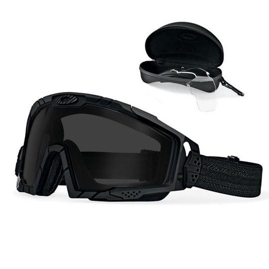 Oakley SI Goggle 2.0 Array Black / Clear & Grey EN