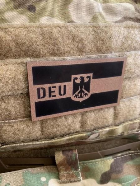 Deutschland DEU Infrarot IR Patch