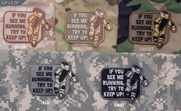 Mil Spec Monkey Patch EOD Running