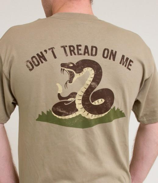 Mil Spec Monkey Dont Tread T Shirt