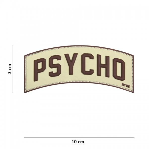 Patch 3D PVC Psycho