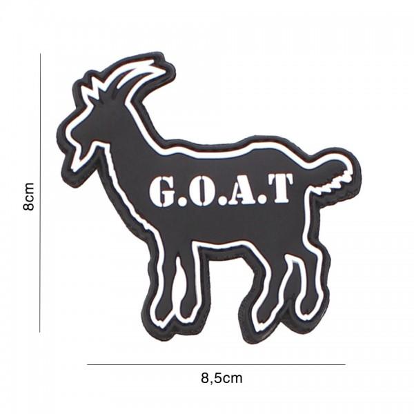 3D PVC Goat Patch
