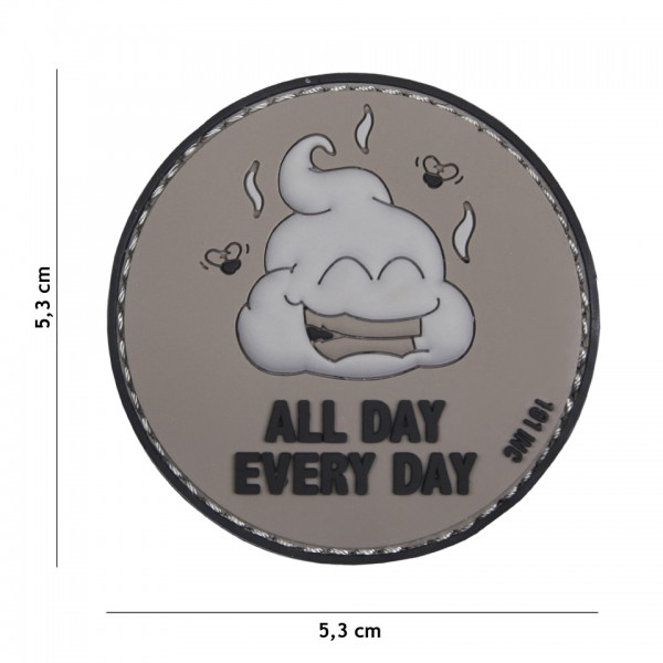 PVC all day every day Patch
