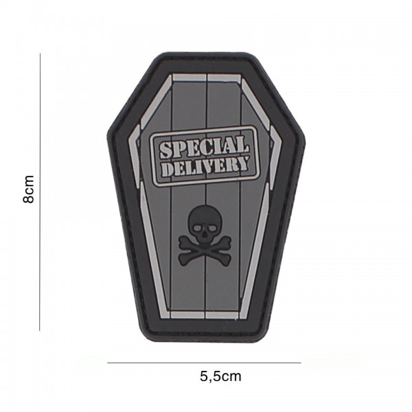 3D PVC Special Delivery Patch