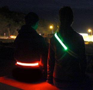 Halo Belt 2.0 Leuchtgürtel Rot