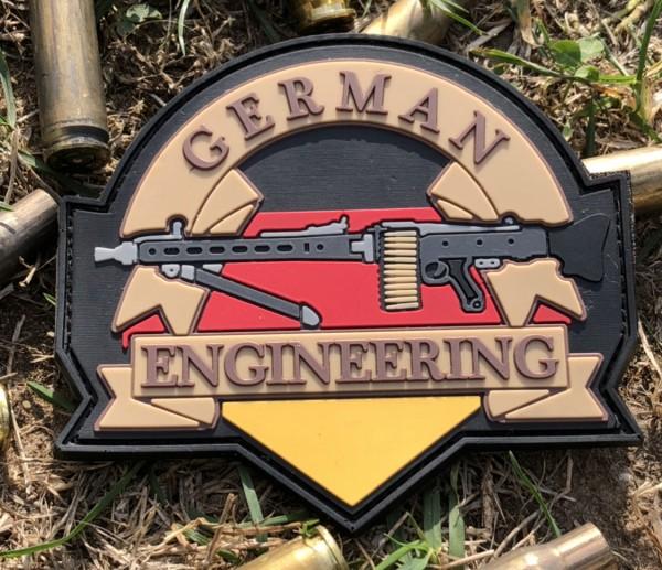 PW German engineering 3D PVC Patch