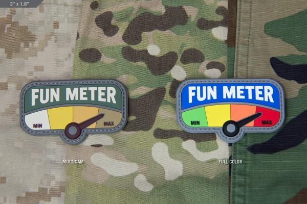 Mil Spec Monkey Patch Fun Meter 3in PVC
