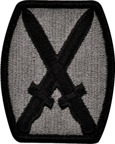 Patch 10th Mountain ( infantry )