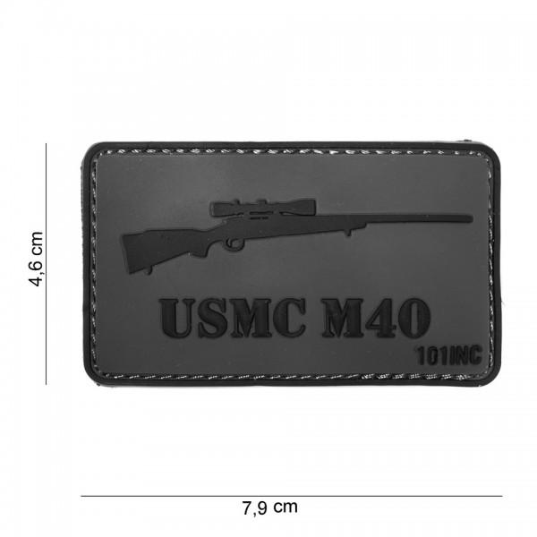 3D PVC usmc M40 Patch