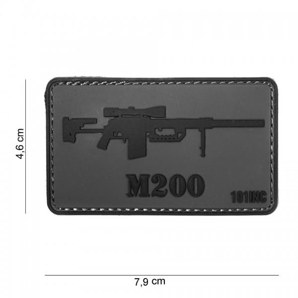 3D PVC M200 Gun Patch