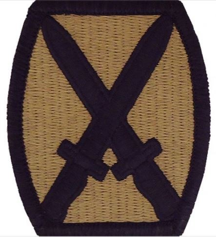 10th Mountain Division OCP Patch