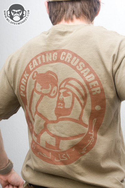 Mil Spec Monkey Pork Eating T Shirt