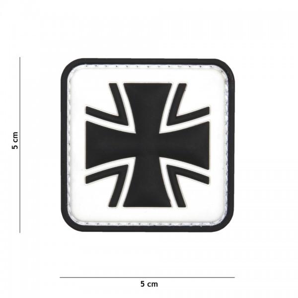 Patch 3D PVC Eisernes Kreuz
