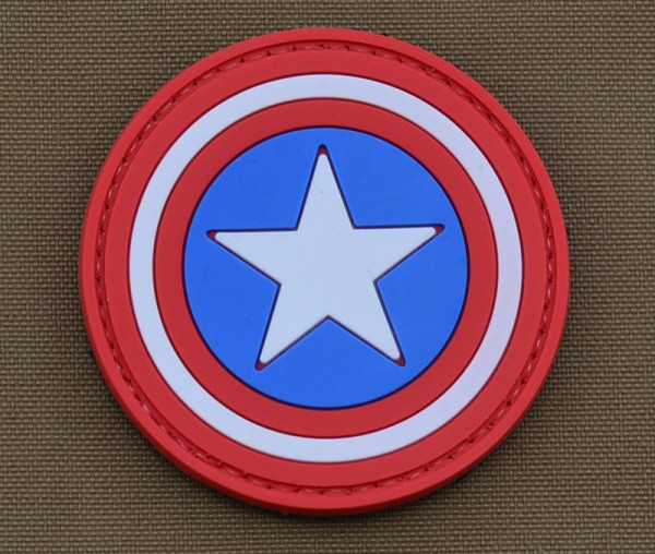 La Patcheria PVC patch Captain America