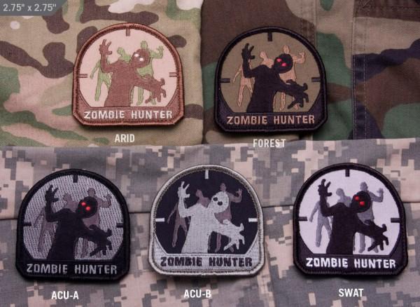 Mil Spec Monkey Patch Zombie Hunter