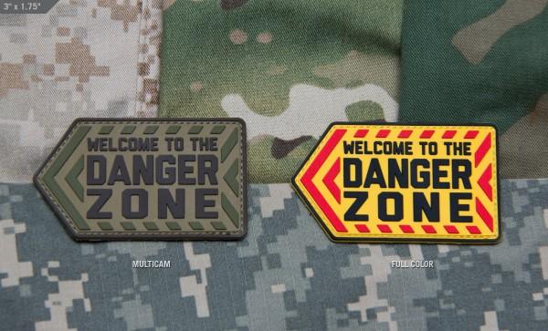 Mil Spec Monkey Patch Danger Zone PVC