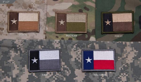 Mil Spec Monkey Patch Texas Flag
