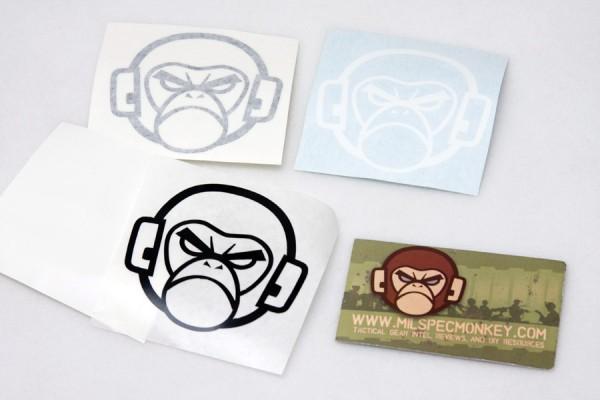 Mil Spec Monkey Logo Small Sticker