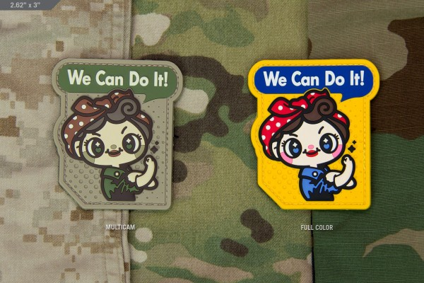 Milspec Monkey We Can Do It Cute Patch