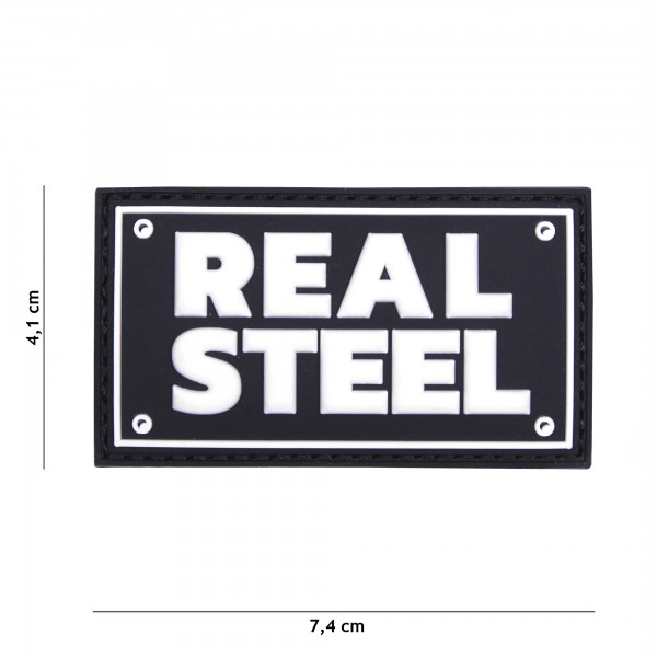 Patch 3D PVC Real steel