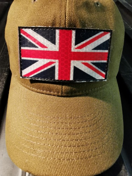 La Patcheria UK United Kingdom Patch IR Style