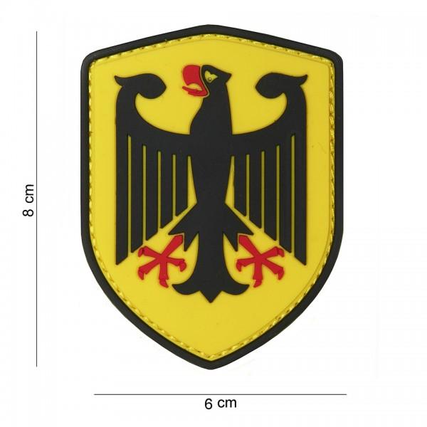 3D PVC Deutscher Adler Patch