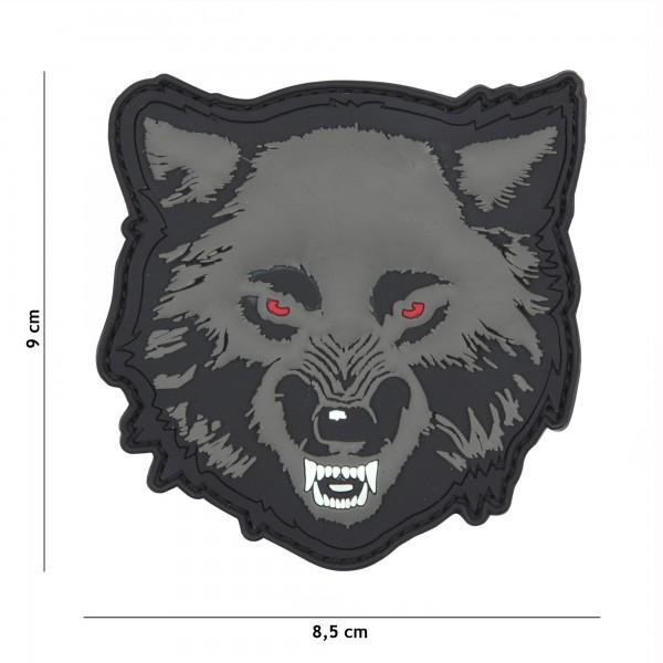 Patch 3D PVC Wolf