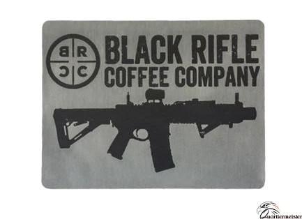 Black Rifle Coffee Classic Logo Sticker - Grau