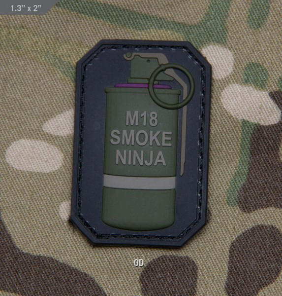 Mil Spec Monkey Smoke Ninja Patch
