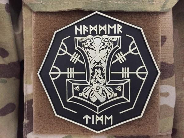 PW Hammertime 3D PVC Patch