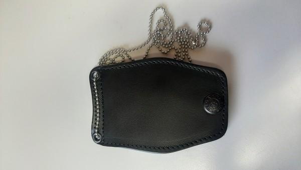 Vega Holster Leather Badge Holder