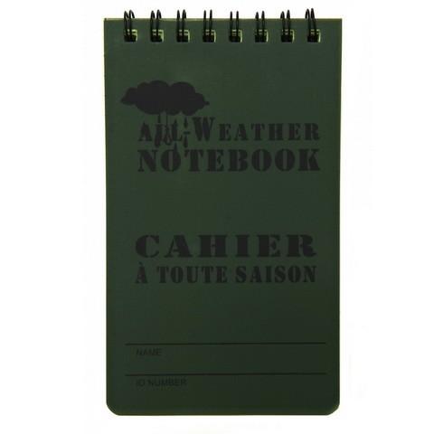 All Weather Notizbuch klein