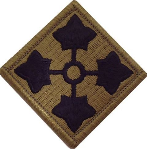 Patch 4th Infantry Division OCP Klett