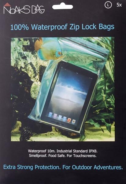 Noaks Bag Schutzhülle Waterproof Zip Lock Bags / XS 5x