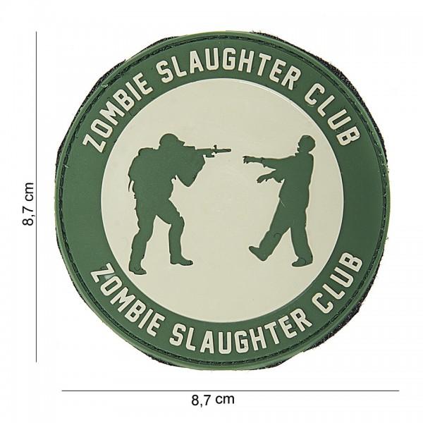 PVC 3D zombie slaughter Patch