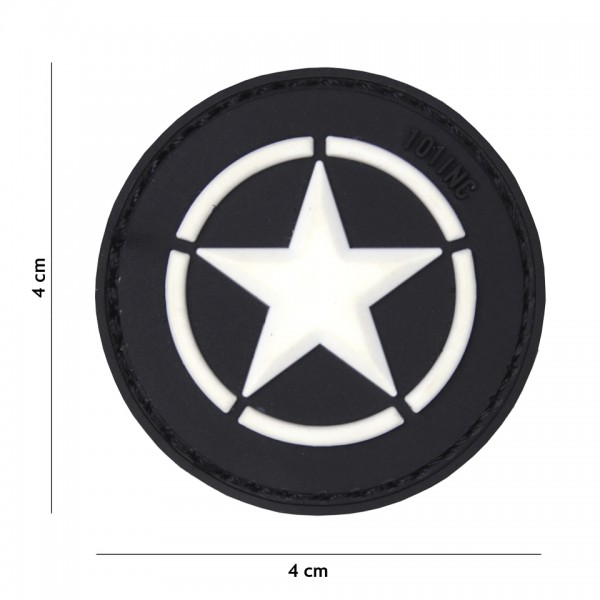 Patch 3D PVC Allied star