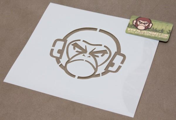 Mil Spec Monkey Logo Schablone