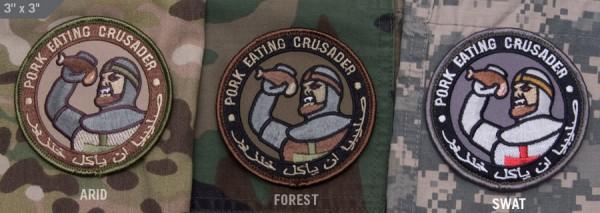 Mil Spec Monkey Patch Pork Eating Crusader