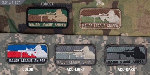 Mil Spec Monkey Patch Major League Sniper